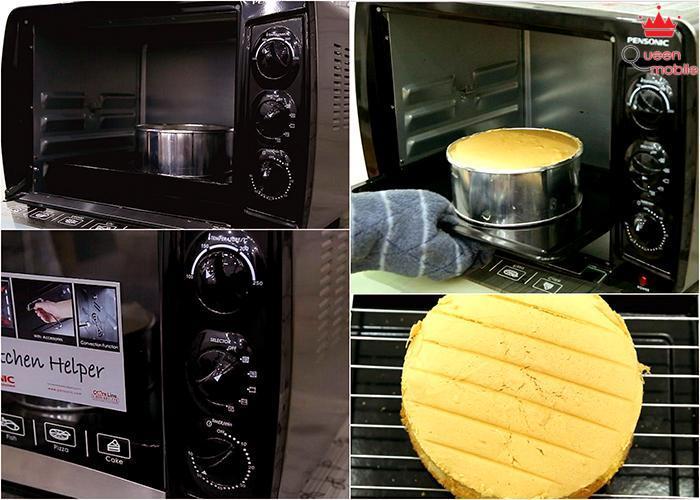 Nướng bánh: