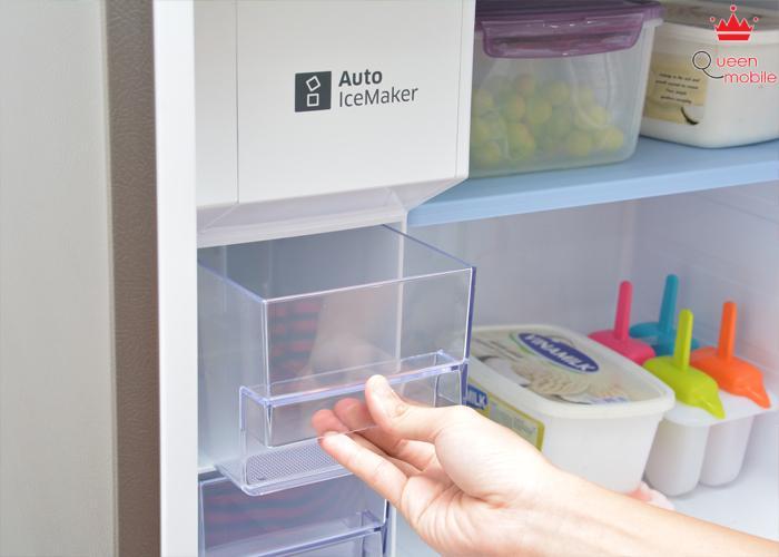 Ngăn làm đá có thể dùng để trữ thực phẩm đông lạnh