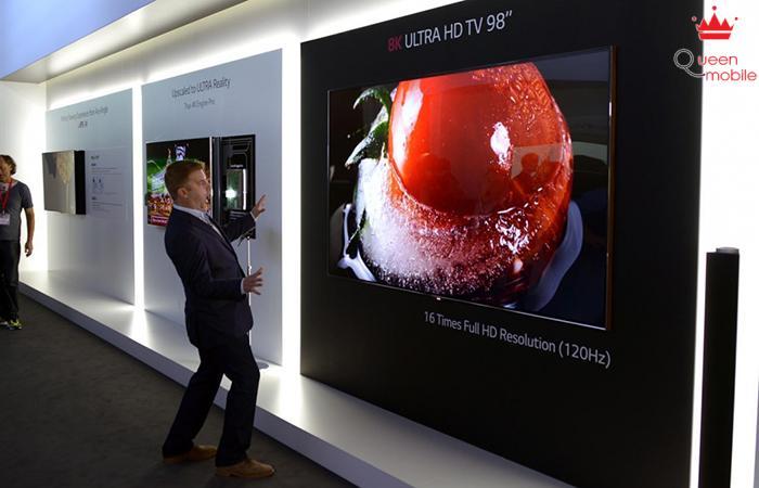 [IFA 2014] LG trình làng chiếc tivi 98 inch hiển thị 8K cực khủng
