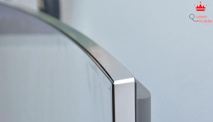 Tivi với khung viền được làm từ chất liệu cao cấp