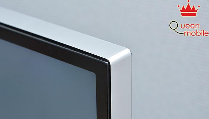 Viền màn hình tivi mỏng (1.3 cm) nên giúp tạo cảm giác hình ảnh tràn ngập ra ngoài