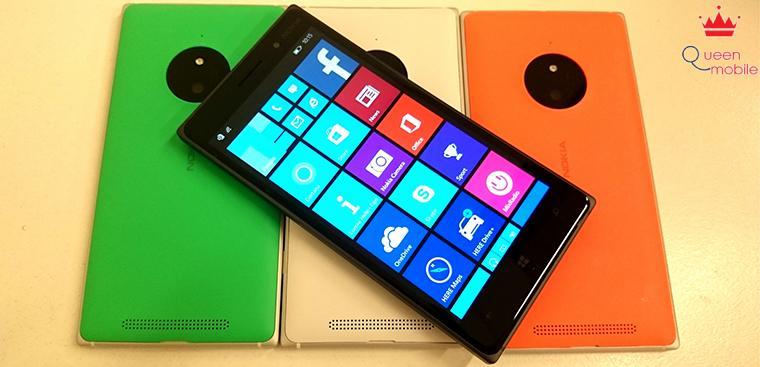 Camera 10MP của Lumia 830 là giai đoạn thứ 5 của công nghệ Pureview