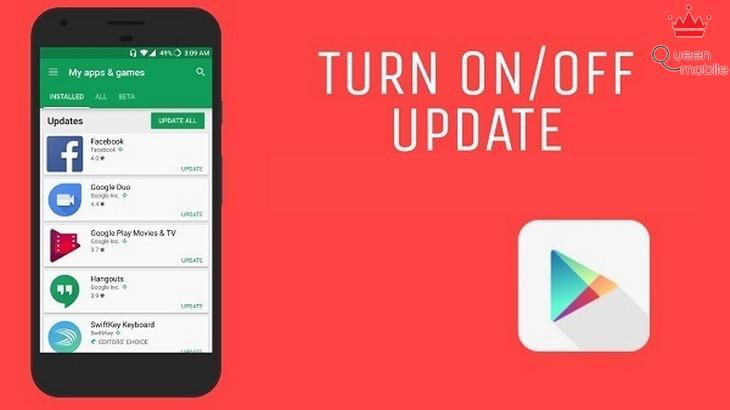 5 bước tắt tính năng tự động cập nhật của ứng dụng