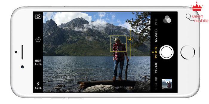 Công nghệ Exposure Control cho phép người dùng điều chỉnh độ sáng ngay khi đang chụp ảnh