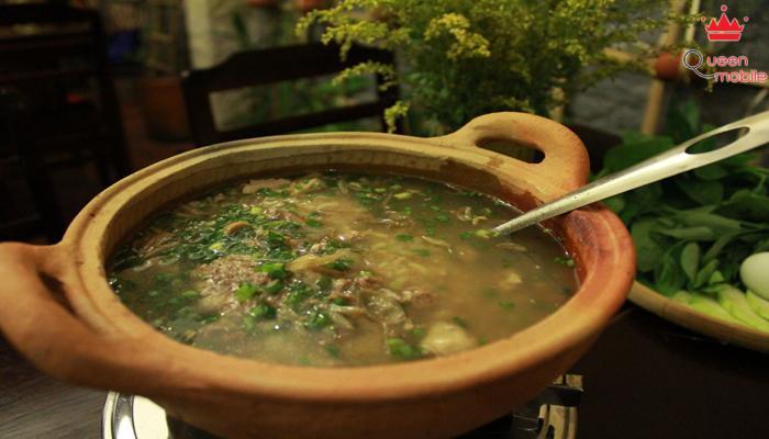 Cháo cua đồng không chỉ bổ dưỡng mà còn làm phong phú bữa ăn gia đình