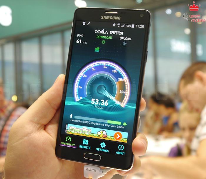 9. Kết nối 4G LTE siêu nhanh