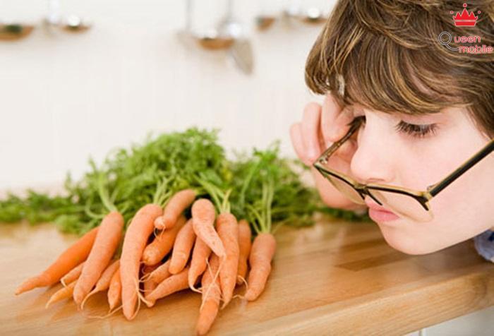 Ăn những thực phẩm tốt cho mắt