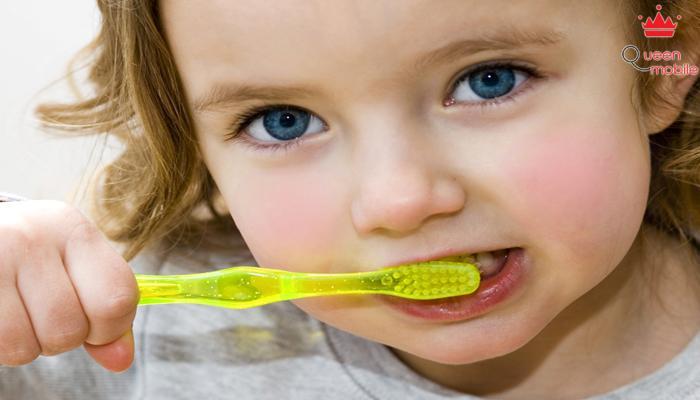 Đánh răng sau khi ăn loại bỏ vi khuẩn có hại do thức ăn gây ra.