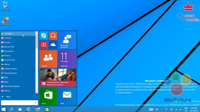 Lộ video giao diện Windows 9, bạn đã sẵn sàng nâng cấp?