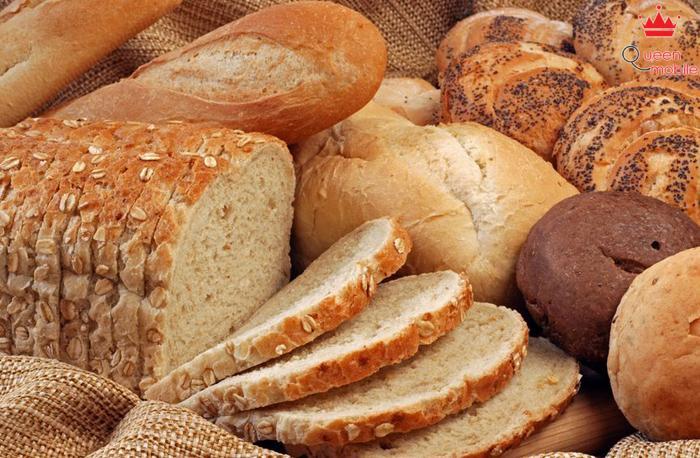 Bánh mì nguyên hạt bổ dưỡng hơn bánh mì trắng
