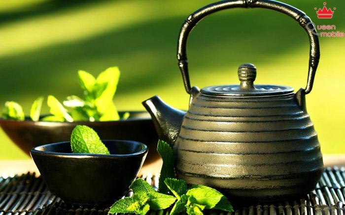 Hãy uống trà xanh thay cho cà phê