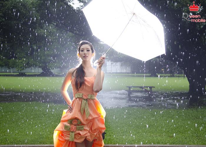 Độc chiêu trang điểm ngày mưa