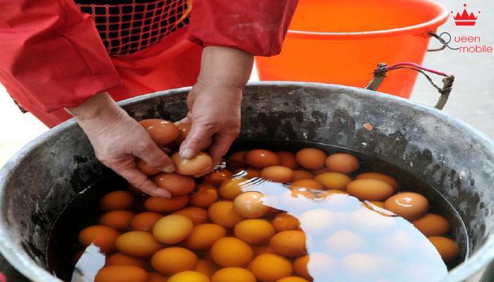 Trứng luộc nước tiểu- Tinh hoa ẩm thực