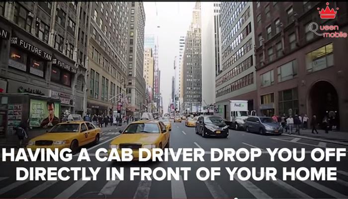 Để tài xế taxi đưa bạn về tận nhà như vậy họ sẽ biết bạn sống ở đâu.