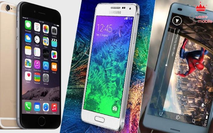 IPhone 6 đọ súng với Galaxy Alpha và Xperia Z3 – Bạn chọn cái nào?