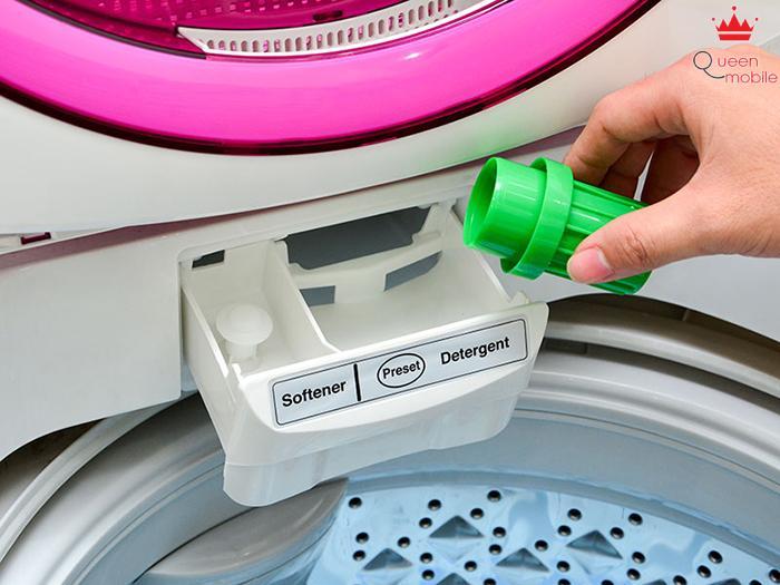 Khe chứa bột giặt