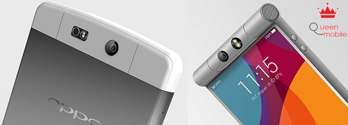 Thiết kế cụm camera mới của Oppo N3 khác xa so với ảnh rò dựng cách đây vài ngày