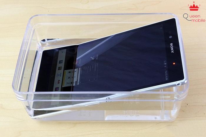 Tiêu chuẩn chống bụi, chống nước IP58 của Sony Xperia Z Ultra