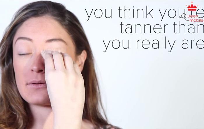 Bạn nghĩ bạn bị sạm da nhưng thực sự thì không sạm da đến thế nhìn tay và mặt của bạn xem
