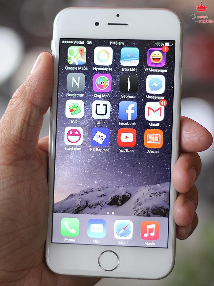 Trên tay nhanh iPhone 6 - Rất mỏng, màn hình đẹp