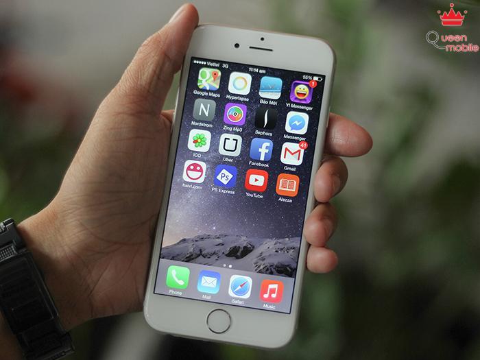 Màn hình HD Retina của iPhone 6 hiển thị rất đẹp mắt và chính xác