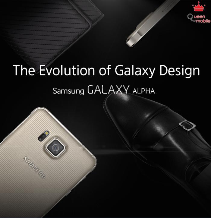 Galaxy Alpha – Smartphone có thiết kế đẹp nhất của Samsung