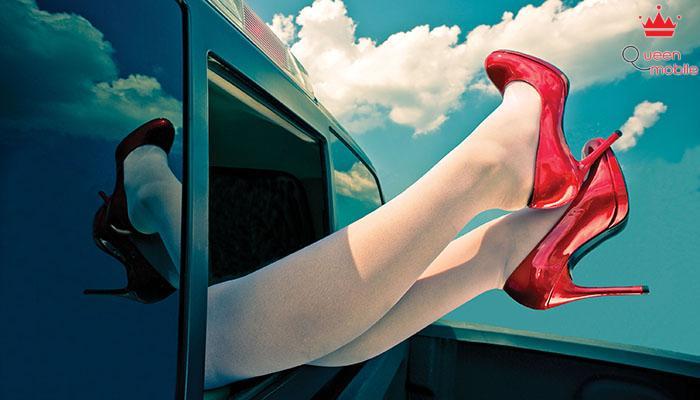 Sử dụng giày cao gót có thể làm tổn thương bàn chân