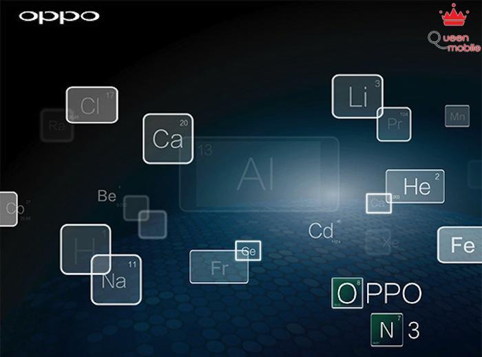 OPPO N3 được thiết kế từ chất liệu làm vỏ tàu vũ trụ