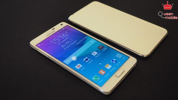 Đập hộp Samsung Galaxy Note 4 đầu tiên trên thế giới