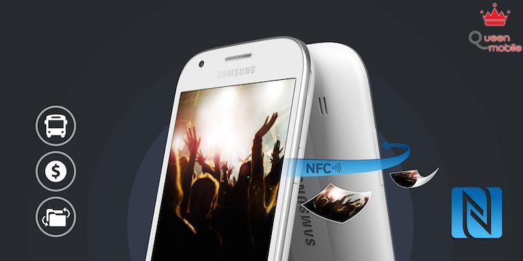 Máy được trang bị công nghệ NFC