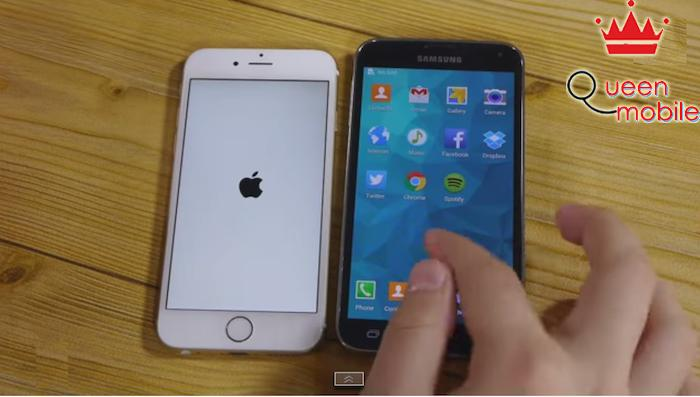 So sánh tốc độ iPhone 6 và Samsung Galaxy S5: ai nhanh hơn?