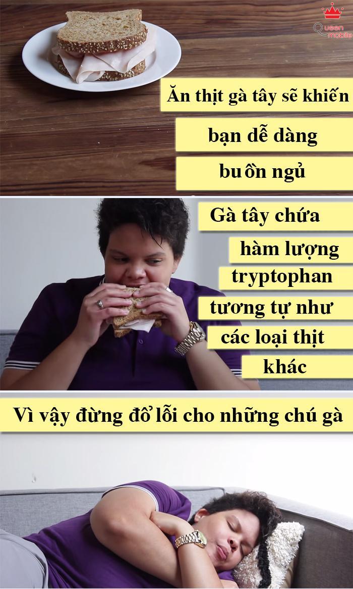 Món ăn này hiện đang dần phổ biến tại Việt Nam, tuy nhiên tin đồn là ăn gà tây dễ ngủ? Sự thật không phải như vậy.
