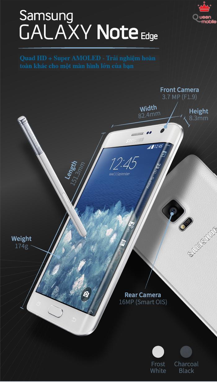 Hiểu ý nghĩa màn hình cong của Galaxy Note Edge qua ảnh