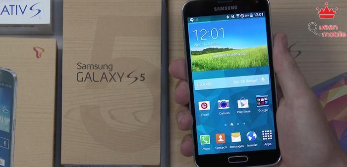 Rò rỉ video chi tiết bản rom Android L trên Galaxy S5