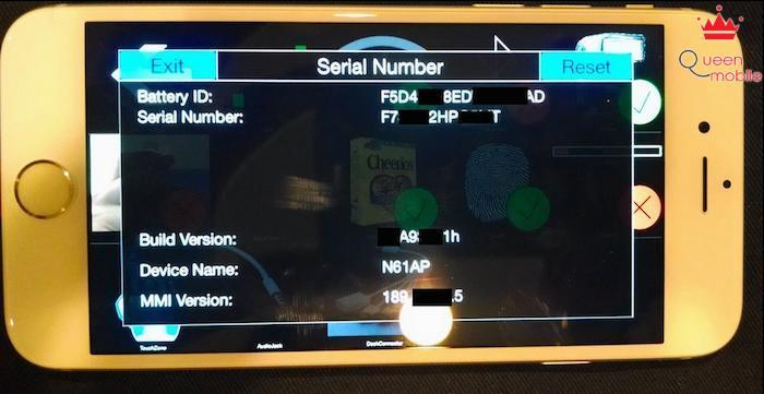 Một số hình ảnh bản iPhone thử nghiệm được chủ nhân cung cấp