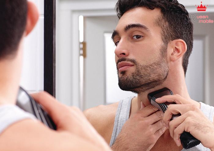Cạo râu khô làm cho da bị kích ứng
