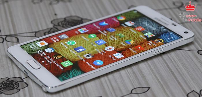 Samsung nhấn mạnh màn hình 2K siêu đẹp của Note 4 trong quảng cáo mới