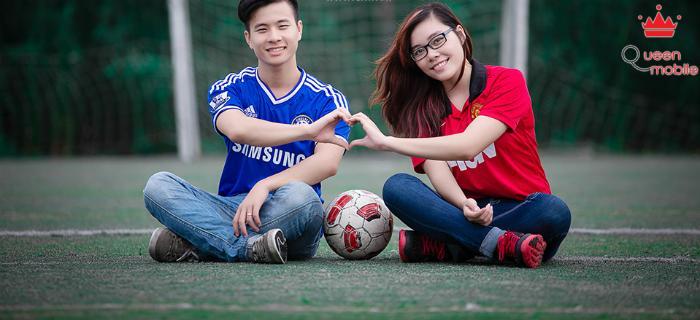 Cả hai cũng có thể thể hiện tình yêu thể thao trong ảnh cưới của mình