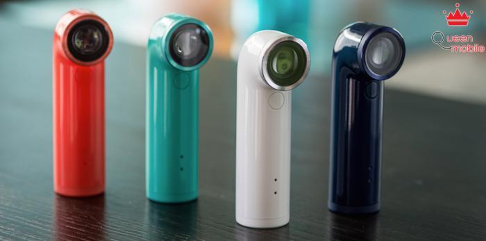 Tự sướng kiểu mới với HTC RE: camera 16MP, giá 199$