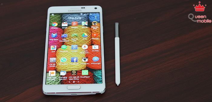 Đánh giá Samsung Galaxy Note 4 – thiết kế sang trọng, màn hình 2K siêu nét