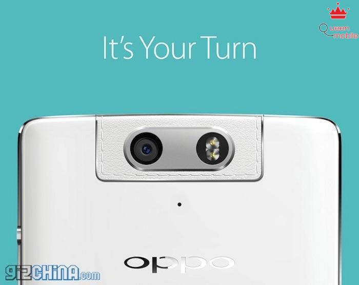 OPPO N3 với camera xoay độc đáo tiếp tục xuất hiện trên video