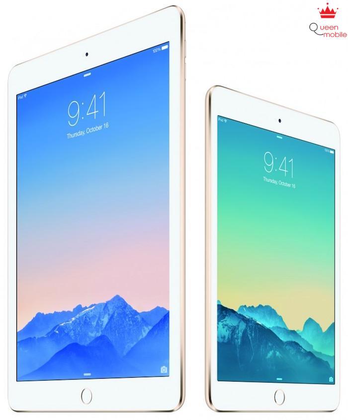 Apple chính thức giới thiệu iPad Air 2 và iPad mini 3