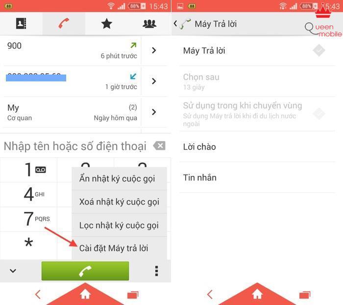 Hướng dẫn sử dụng tính năng hộp thư thoại trên Xperia Z3