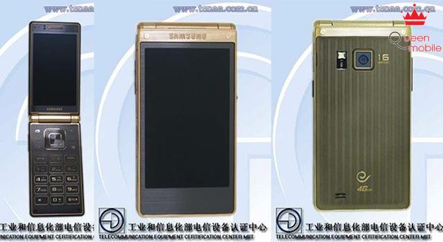 Smartphone nắp gập cấu hình khủng Samsung Galaxy Golden