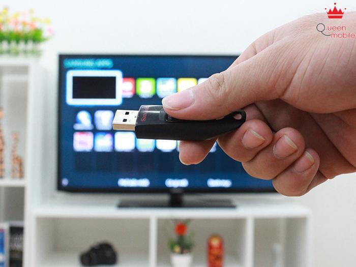 Cách xem phim, xem ảnh, nghe nhạc trên tivi qua cổng USB
