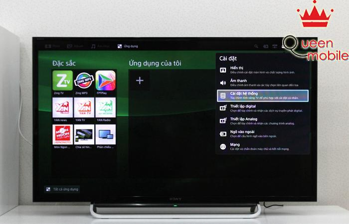 Cách khởi động chế độ tiết kiệm điện trên tivi Sony