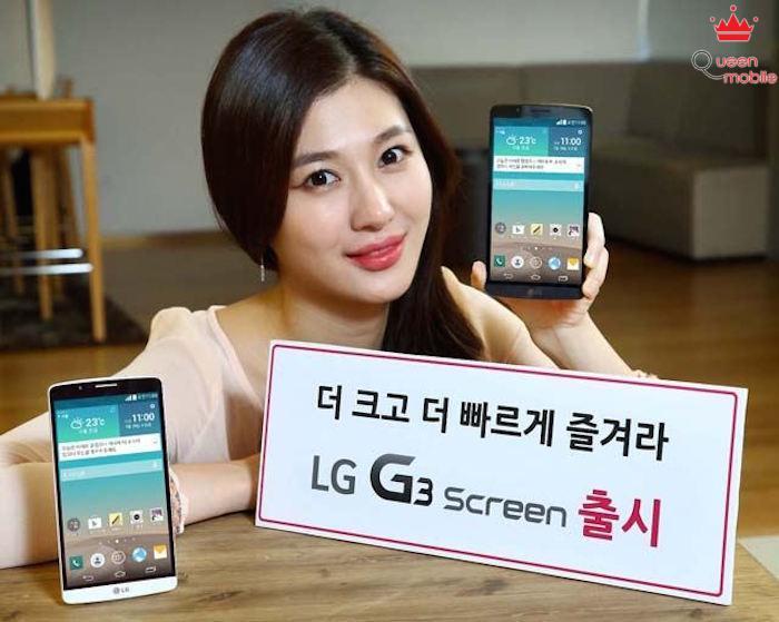 LG G3 Screen chính thức ra mắt cùng bộ vi xử lý khủng NUCLUN 8 nhân