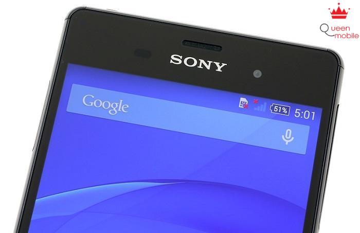 Cạnh viền màn hình cực mỏng của Z3 tương đương với LG G3