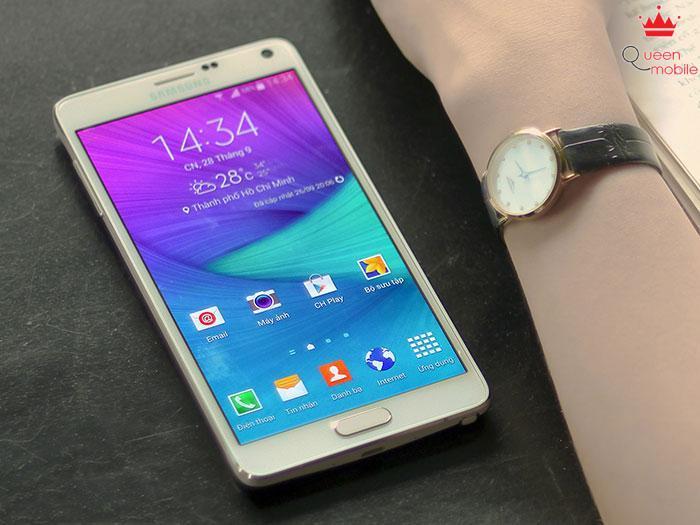 Samsung đã bán được 4,5 triệu chiếc Galaxy Note 4 trong tháng đầu tiên