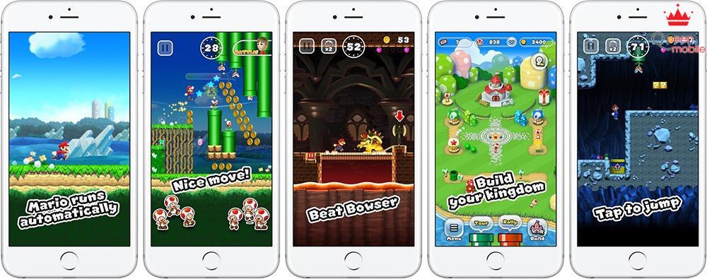Super Mario Run chính thức có mặt trên App Store